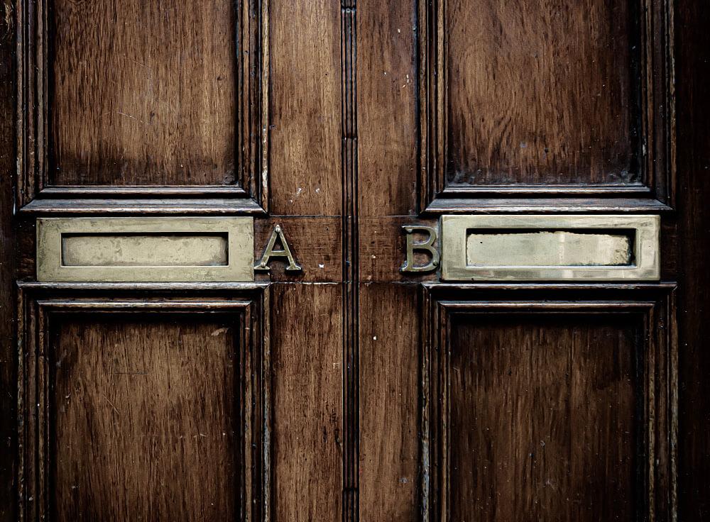 AB Test - Welche Briefkasten ist der bessere?