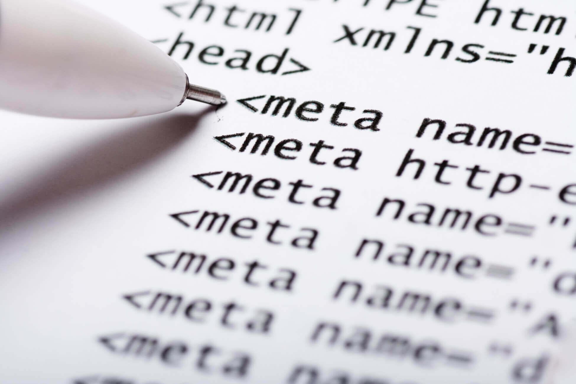 Meta Tags - Wichtige Informationen für Suchmaschinen